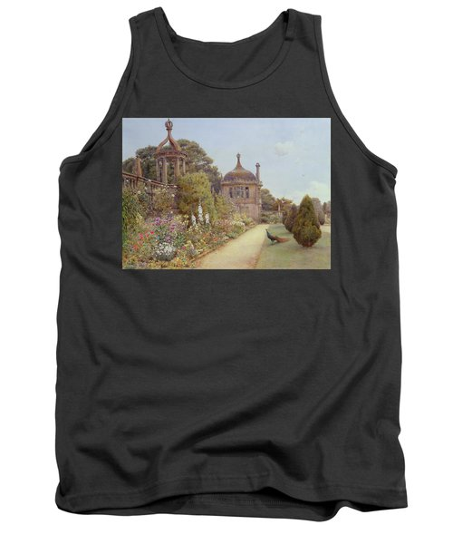 The Gardens At Montacute In Somerset Tank Top by Ernest Arthur Rowe
