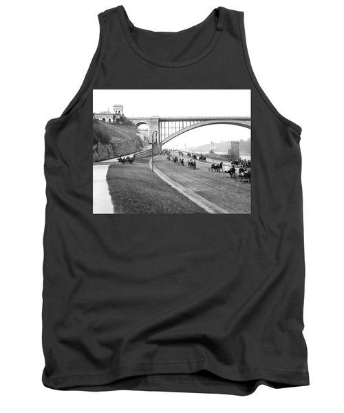 The Harlem River Speedway Tank Top by Detroit Publishing Company