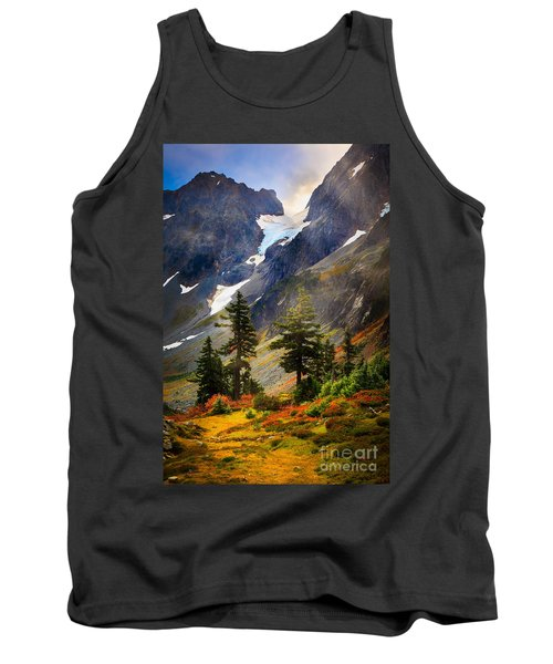 Top Of Cascade Pass Tank Top by Inge Johnsson