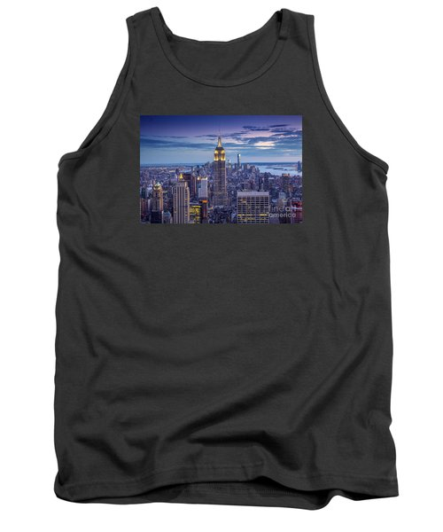 Top Of The World Tank Top by Marco Crupi