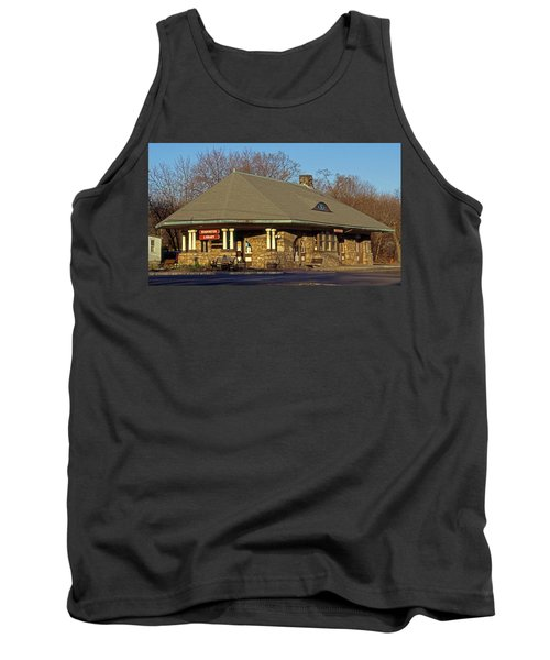 Train Stations And Libraries Tank Top by Skip Willits
