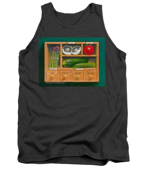 Vegetable Shelf Tank Top by Brian James