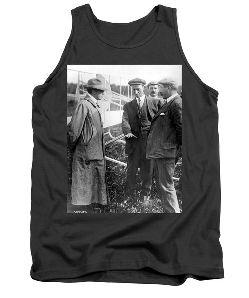 Tank Top featuring the photograph Wilbur Wright, 1908 by Science Source