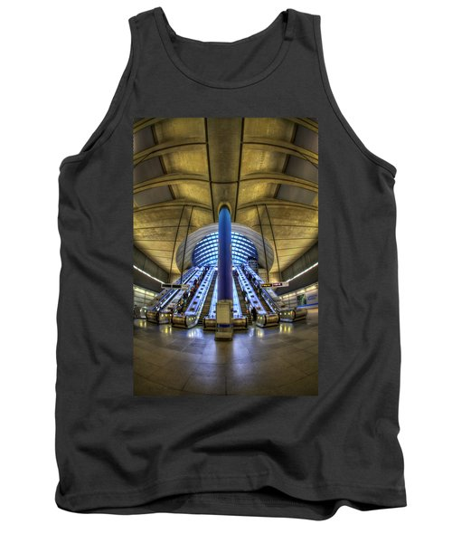 Alien Landing Tank Top by Evelina Kremsdorf