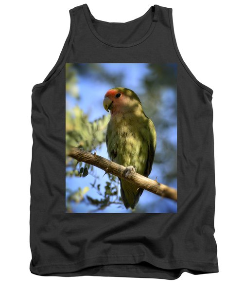 Pretty Bird Tank Top by Saija  Lehtonen