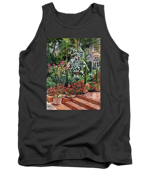 A Garden Approach Tank Top by David Lloyd Glover