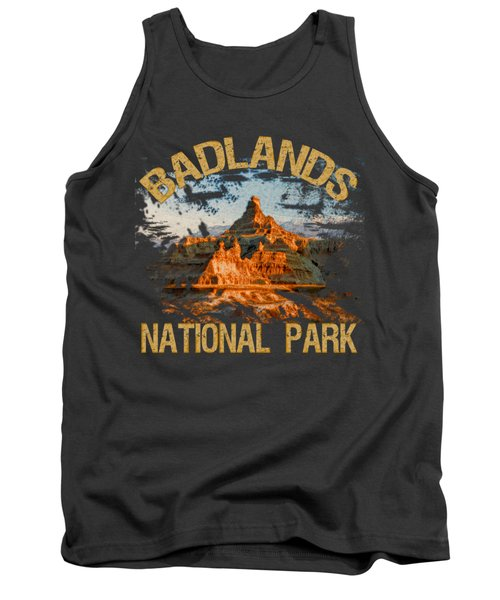 Badlands National Park Tank Top by David G Paul