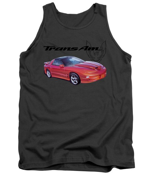 1999 Trans Am Tank Top by Paul Kuras