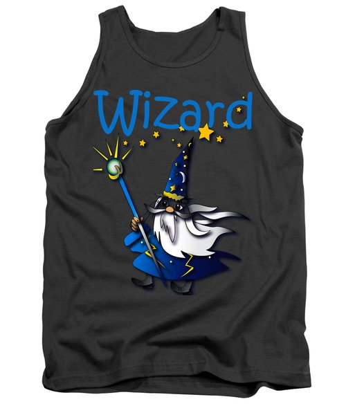 Wizard Tank Top by Jean Habeck