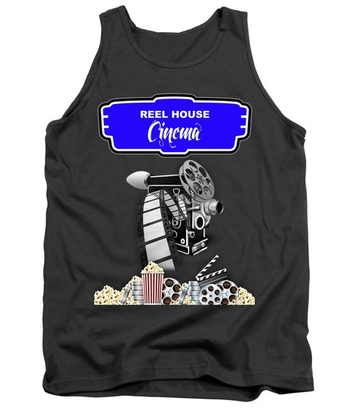Movie Room Decor Collection Tank Top by Marvin Blaine