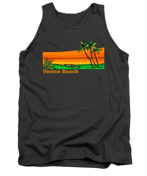 Venice Beach Tank Top by Brian Edward