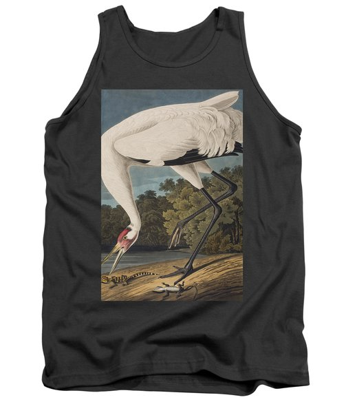 Whooping Crane Tank Top by John James Audubon