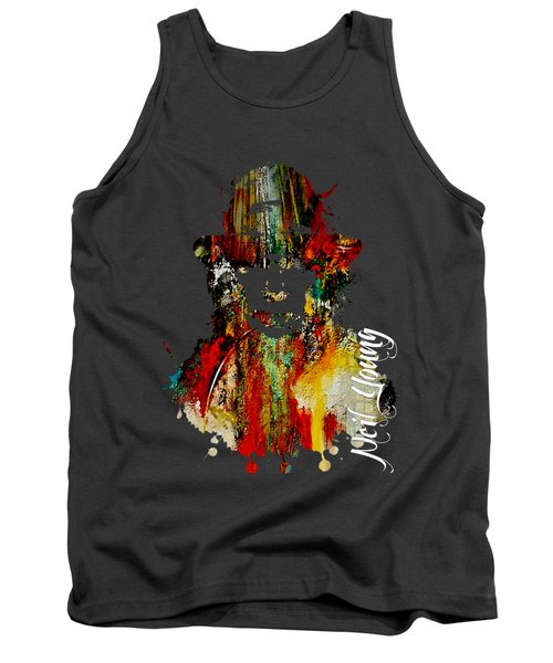 Neil Young Collection Tank Top by Marvin Blaine