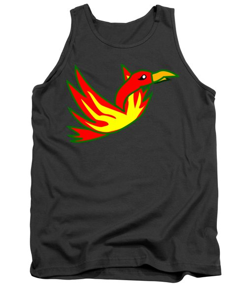 Phoenix Tank Top by Frederick Holiday