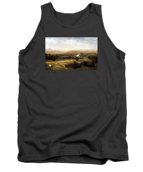 The Last Of The Buffalo  Tank Top by MotionAge Designs