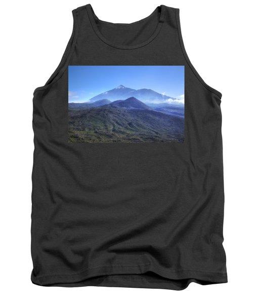 Tenerife - Mount Teide Tank Top by Joana Kruse