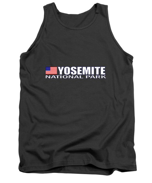 Yosemite National Park Tank Top by Brian's T-shirts