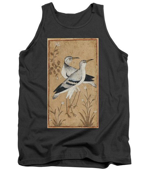 A Pair Of Lapwings Tank Top by MotionAge Designs