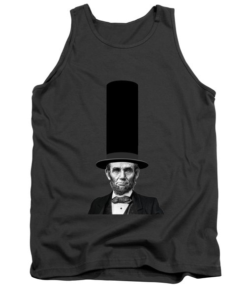 Abraham Lincoln Presidential Fashion Statement Tank Top by Garaga Designs