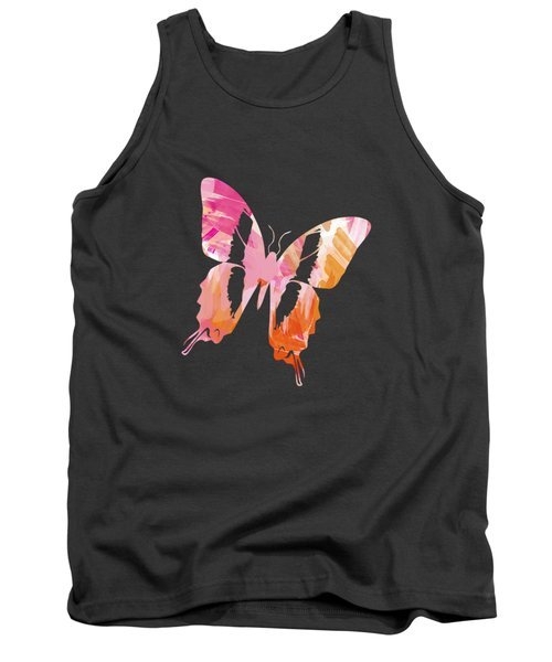 Abstract Paint Pattern Tank Top by Christina Rollo