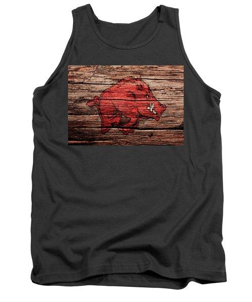 Arkansas Razorbacks Tank Top by Brian Reaves