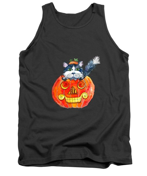 Boo Tank Top by Shelley Wallace Ylst