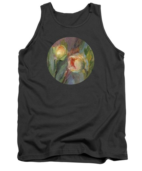 Evening Bloom Tank Top by Mary Wolf