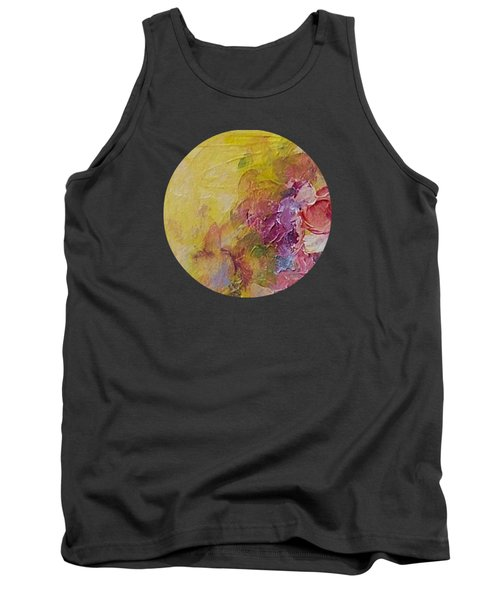 Floral Still Life Tank Top by Mary Wolf