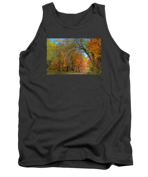 Tank Top featuring the photograph Autumn Light by Rodney Campbell