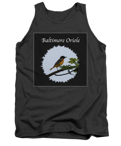 Baltimore Oriole  Tank Top by Jan M Holden