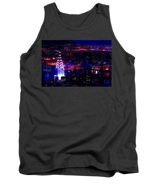 Beautiful Manhattan Skyline Tank Top by Az Jackson