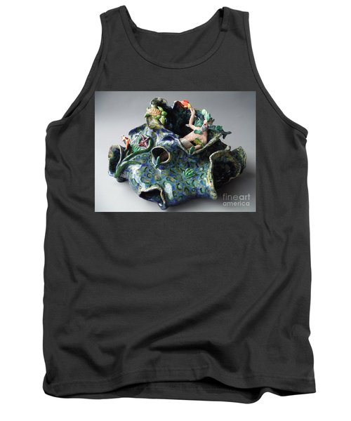 Bin Laden Became Fish Food Tank Top by Paddy Shaffer