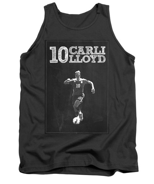 Carli Lloyd Tank Top by Semih Yurdabak