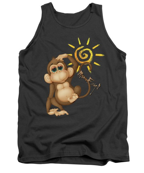 Chimpanzees, Mother And Baby Tank Top by iMia dEsigN