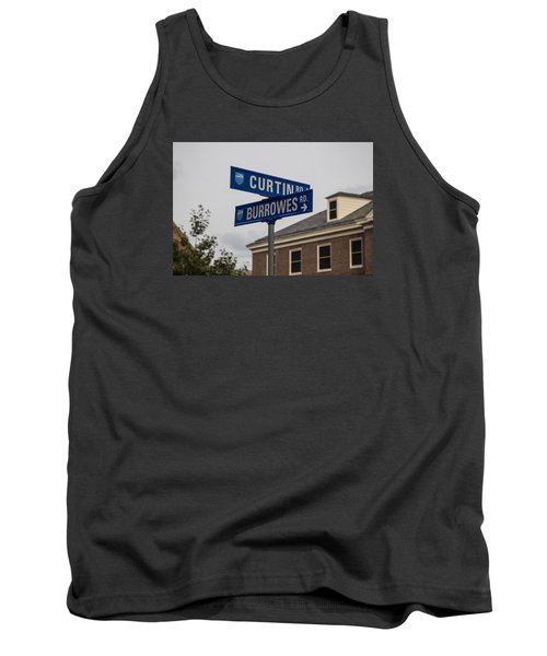 Curtin And Burrowes Penn State  Tank Top by John McGraw