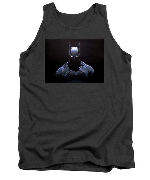 Dark Knight Tank Top by Marcus Quinn