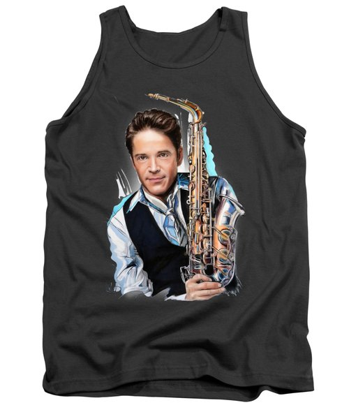 Dave Koz Tank Top by Melanie D