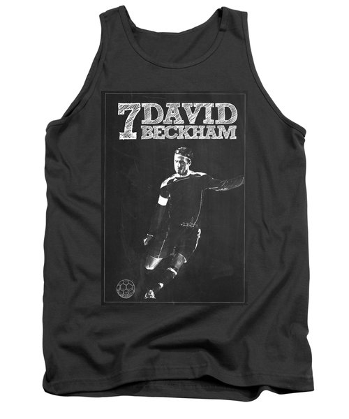 David Beckham Tank Top by Semih Yurdabak