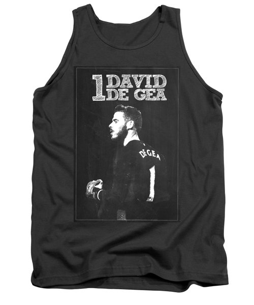 David De Gea Tank Top by Semih Yurdabak
