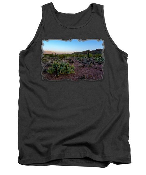 Desert Foothills H29 Tank Top by Mark Myhaver