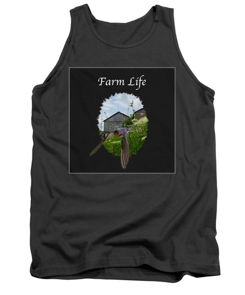 Farm Life Tank Top by Jan M Holden