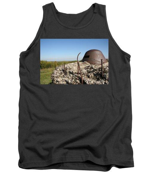 Tank Top featuring the photograph Fort De Douaumont - Verdun by Travel Pics