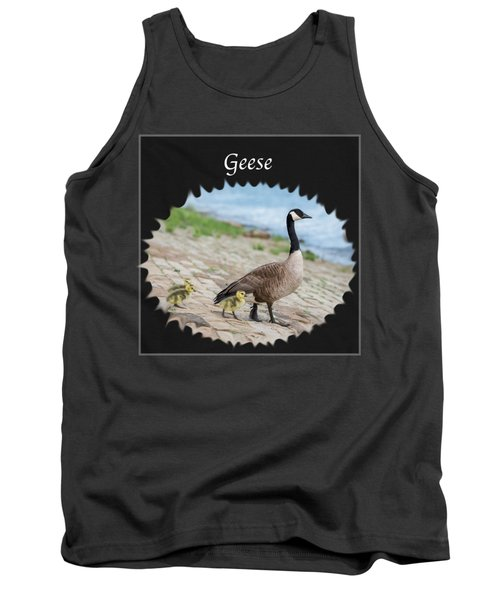 Geese In The Clouds Tank Top by Jan M Holden