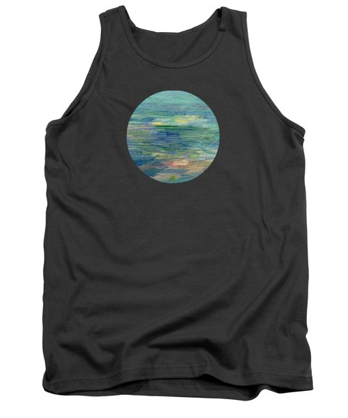 Gentle Light On The Water Tank Top by Mary Wolf