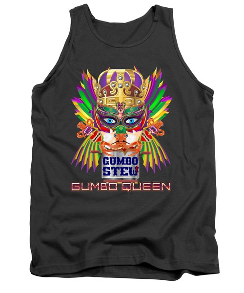 Gumbo Queen 1 All Products  Tank Top by Bill Campitelle