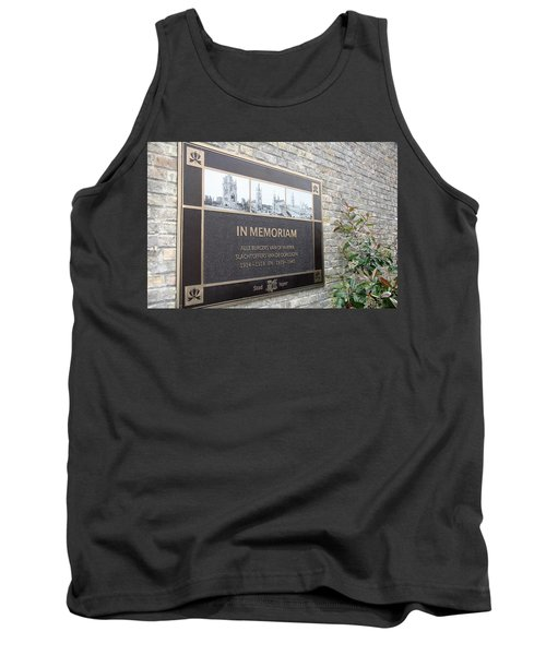 Tank Top featuring the photograph In Memoriam - Ypres by Travel Pics
