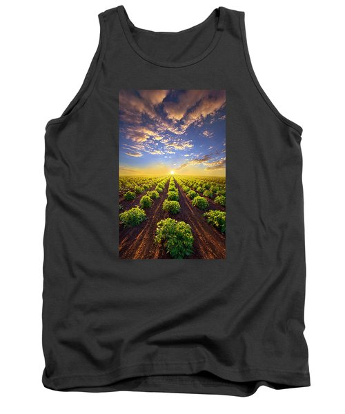Into The Future Tank Top by Phil Koch