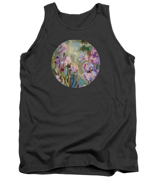 Iris Garden Tank Top by Mary Wolf