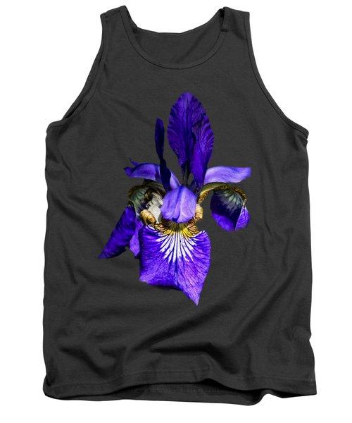 Iris Versicolor Tank Top by Mark Myhaver