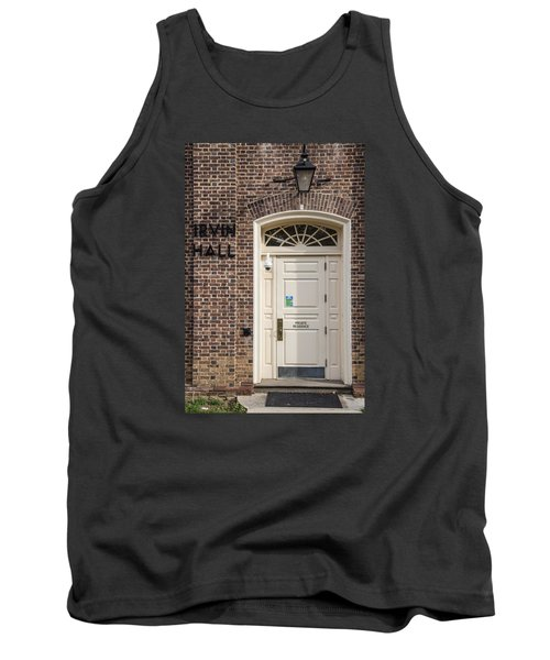 Irvin Hall Penn State  Tank Top by John McGraw